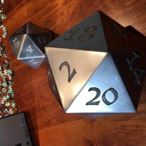 Giant welded stainless steel D20