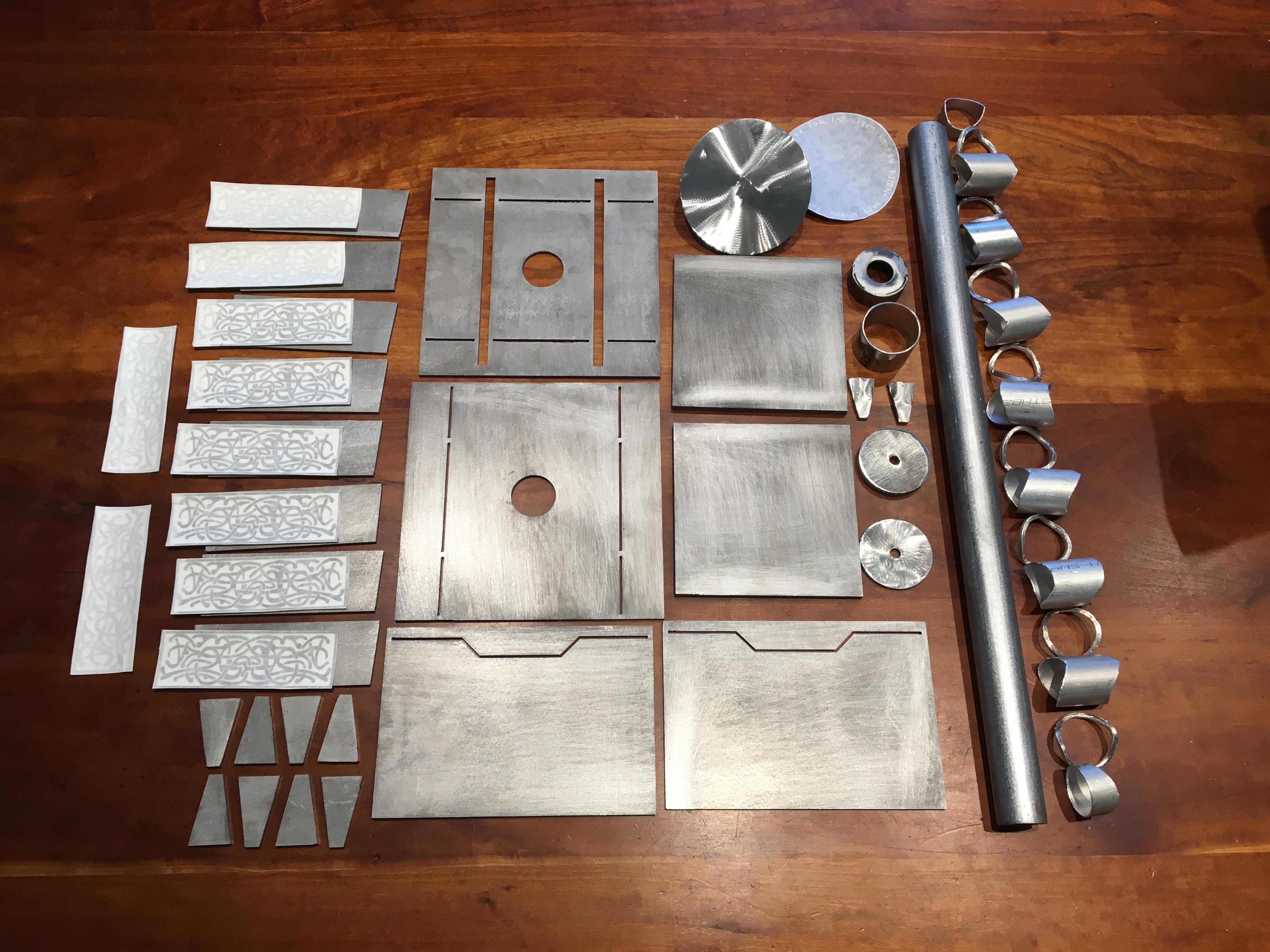 Steel mjolnir thors hammer kit weld it yourself steve gannon handmade steel mjolnir kit solutioingenieria Images